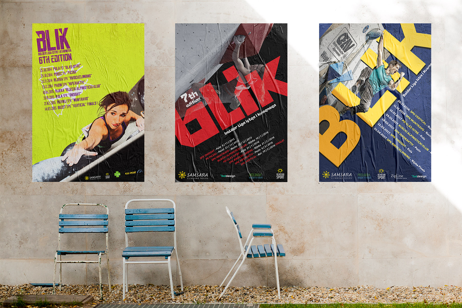 Blik poster artwork